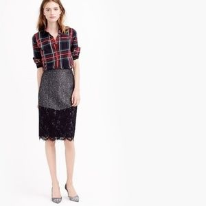 NEW J.CREW The Perfect Party Skirt